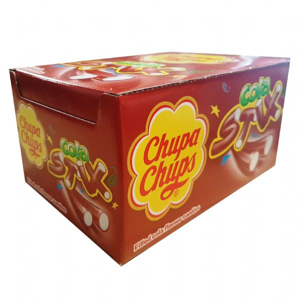 150 x Cola Stix Chupa Chups Fruit Flavoured Sweets - Wholesale Box